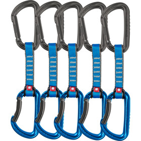 Ocun Falcon QD PA Quickdraw 16mm 10cm 5-Pack, blue